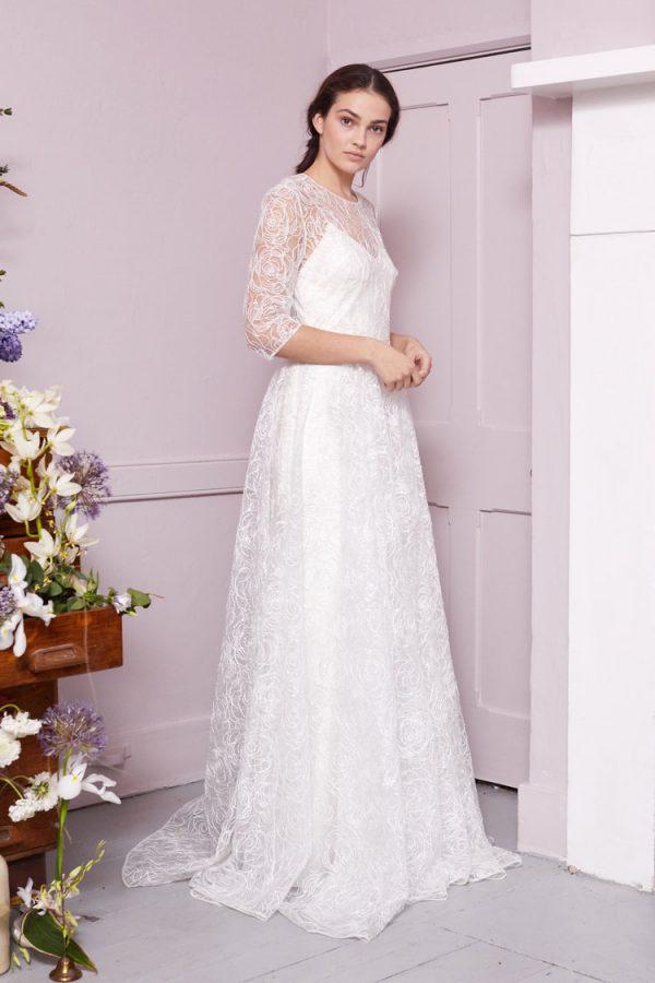 Funkelndes Überkleid Hochzeit