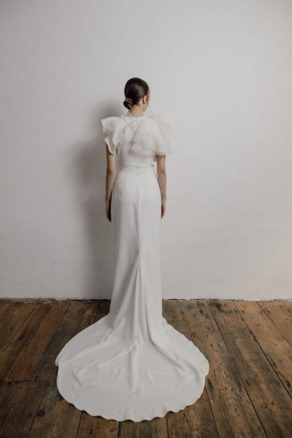 Außergewöhnliches Top für Braut-Zweiteiler, made in Berlin