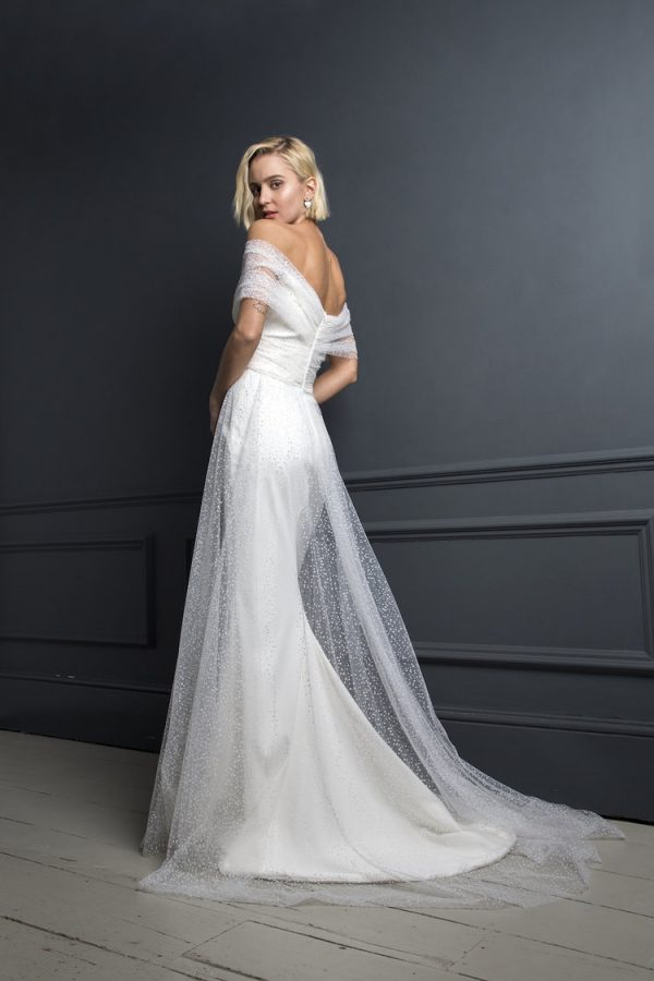 Brautkleid Off-Shoulder
