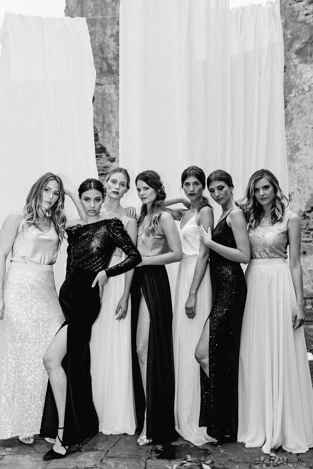 Bridesmaids, Brautjungfern, Maid of Honor, Trauzeugin, Hochzeit, Wedding, Hochzeitsgast, Wedding Fashion