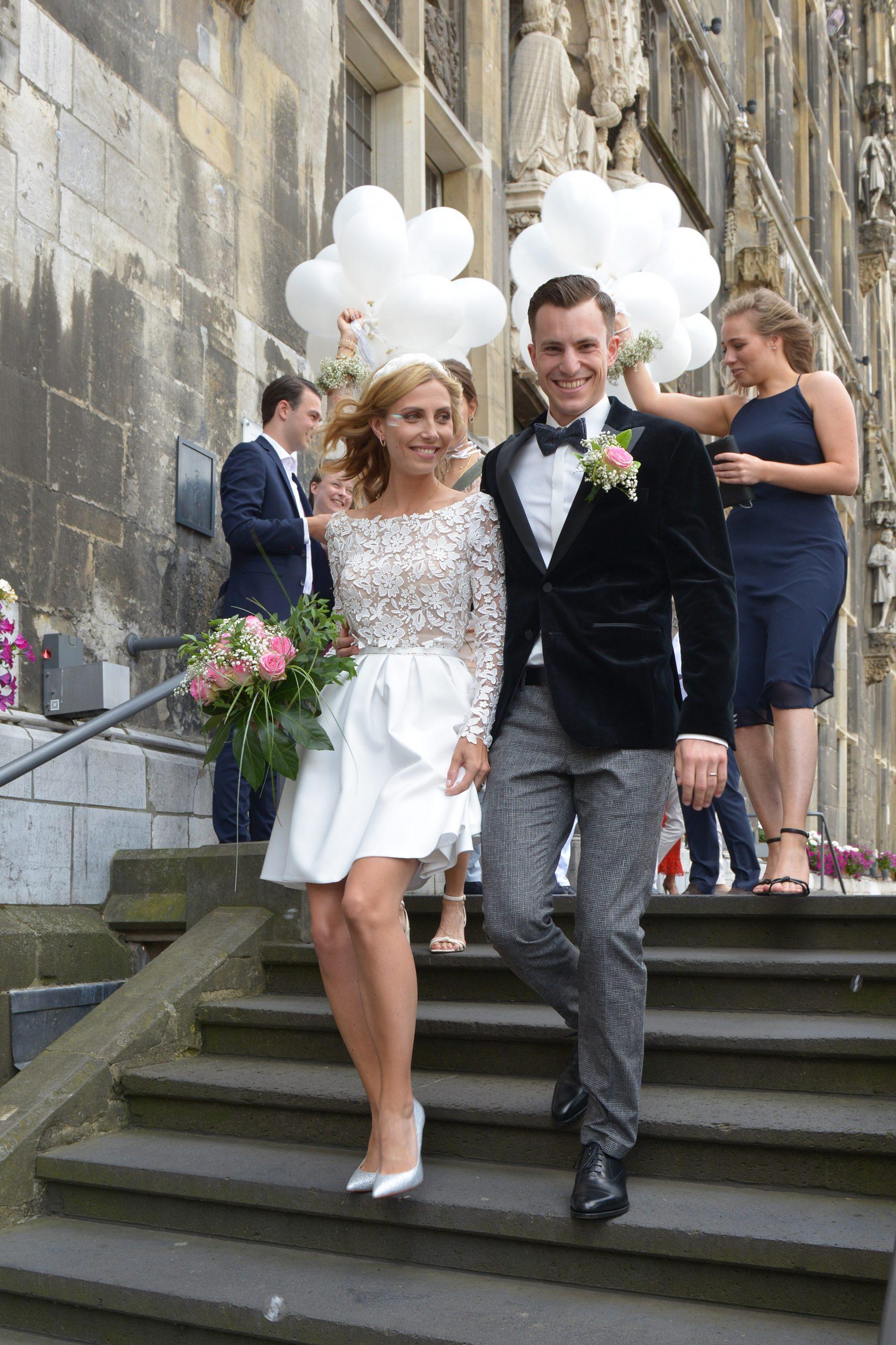 Braut und Bräutigam Standesamt Aachen