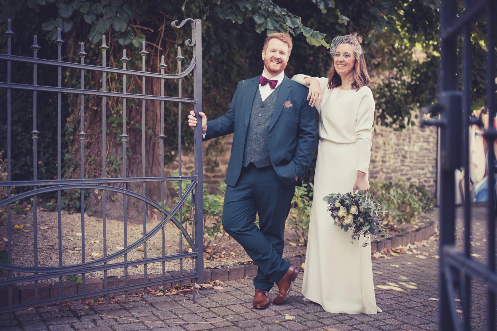 White Concepts Bride Christin & Ehemann Niklas