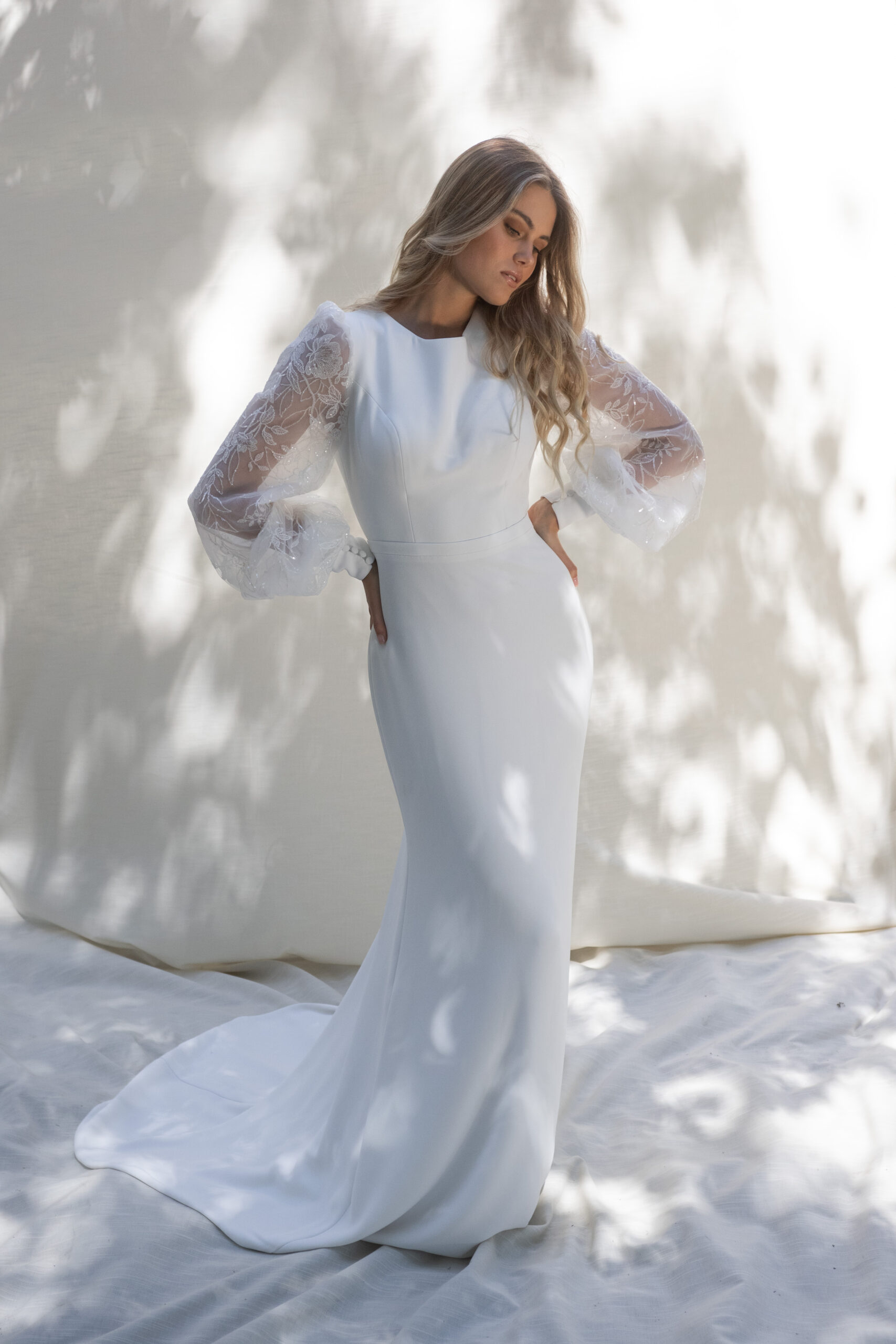 Tinsley Gown by Temple by Bo & Luca White Concepts Brautmode Aachen