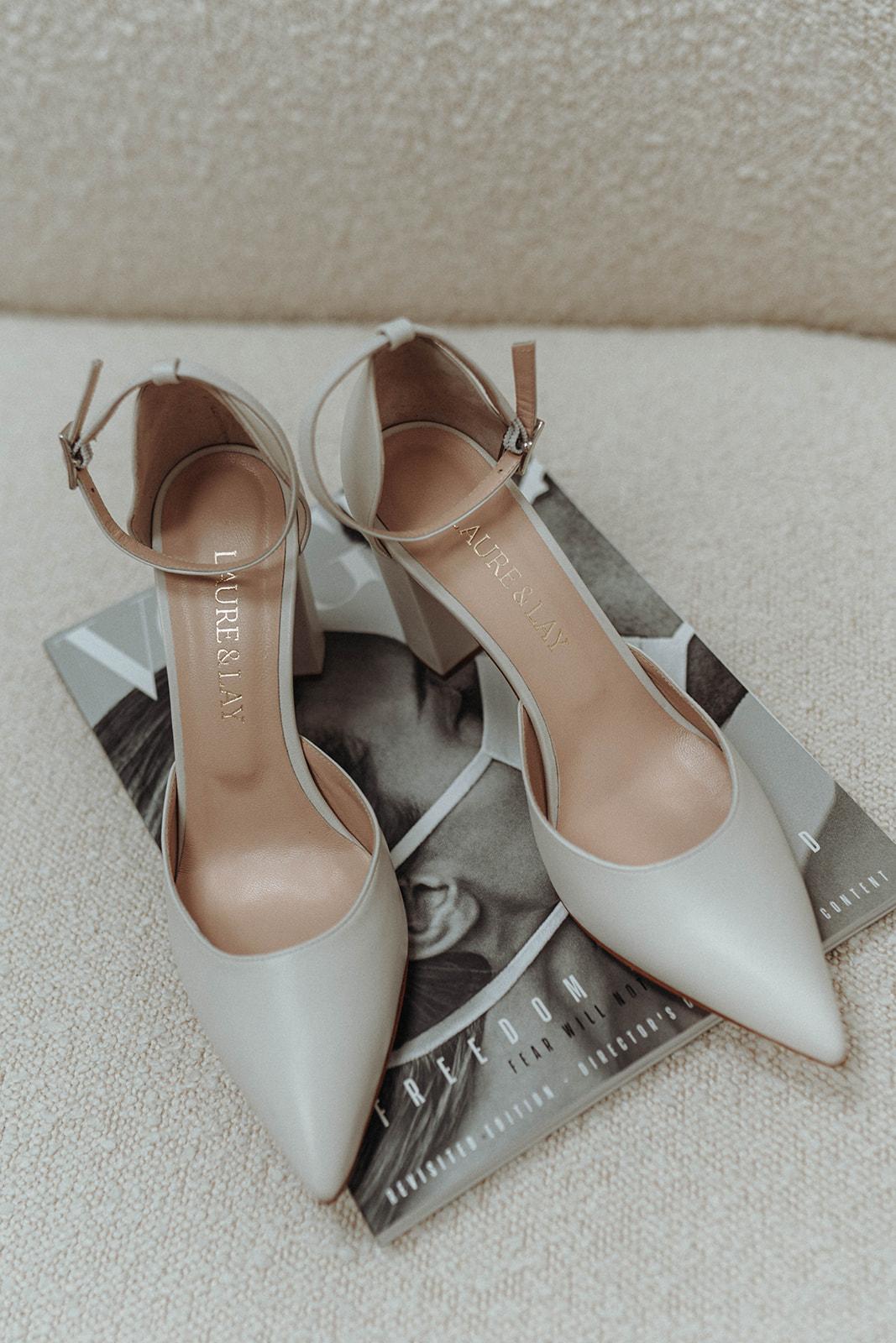 Brautschuh Nala & Lay White Concepts Brautmode Aachen