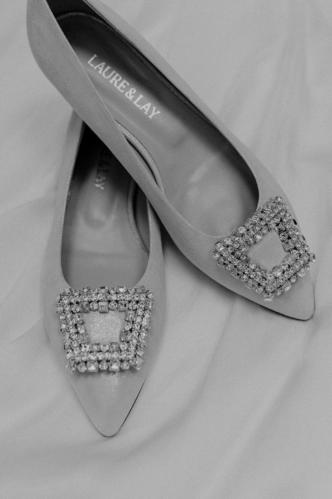 Brautschuhe Grace Laure &  Lay White Concepts Brautmode Aachen